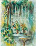 La pergola de l'Annetta          aquarelle       50x65