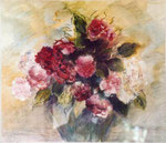 Bouquet                       aquarelle-pastel