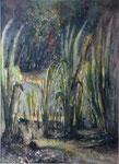 Les hautes herbes                 aquarelle       64x82