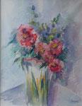 Bouquet d'été                    aquarelle  65x80