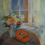 Cueillet d' automne                                 Huile sur toile    100  x 100