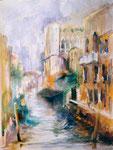 Venise                           aquarelle  80x100