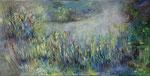 La mare                                                  Huile sur toile 100 x 50