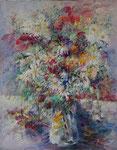 Le grand bouquet Huile sur toile  30F