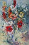 Bouquet  Huile sur toile   25 M