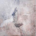 Philippe Croq, 150X150cm, technique mixte sur toile-Galerie Gabel- Côte d'Azur, France