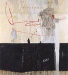 Philippe Croq, technique mixte sur toile- Galerie Gabel- Côte d'Azur - Biot