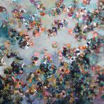 Clothilde Lasserre-Huile sur toile-120X120cm-Galerie d'art à Biot-GALERIE GABEL-French Riviera