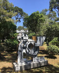 Erick Ifergan, sculpture monumentale . Galerie d'art Biot village. Galerie Gabel