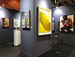 Galerie Gabel Art Up 2018  (artfair)- Galassi-Lyle Carbajal-Sophie Hustin-Thierry Michelet dit Joseph-George sculpteur-Stephane Bolongaro