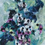 Clothilde Lasserre-Huile sur toile-100X100cm-Galerie d'art à Biot-GABEL