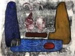 Dominique Pouchain, dessin original, pastel. Galerie Gabel-Biot-Côte d'Azur-France