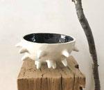 Sandrine Auric, grès émaillé fait main , Galerie Gabel, Biot