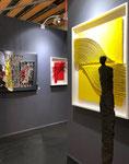 Galerie Gabel Art Up 2018- Galassi-Lyle Carbajal-Sophie Hustin-Thierry Michelet dit Joseph-George sculpteur-Stephane Bolongaro