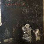 """Philippe Croq """"EMIETTE.2"""" 60X60cm technique mixte sur toile-Galerie Gabel- Côte d'Azur"""