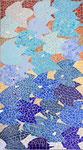 Sophie Allain- mosaïque 90X51cm- Peut-être vendue avec pied de table