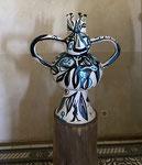 Erick Ifergan, sculpture en céramique, pièces uniques . Galerie d'art Biot village. Galerie Gabel