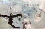"""Philippe Croq """"RUBATO"""" 41X27cm technique mixte sur toile-Galerie Gabel- Côte d'Azur, ART UP 2021"""