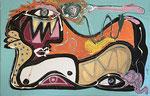 Erick Ifergan, acrylique sur toile. Galerie d'art Biot village. Galerie Gabel