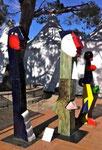 Guetteurs de Jacky Coville-le salon des antiquaires et de l'art contemporain d'Antibes 2013_Galerie Gabel Biot