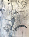 Philippe Croq, acrylique sur toile 41X33cm - Galerie Gabel- Côte d'Azur- Biot