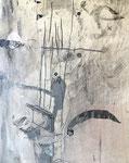 Philippe Croq, acrylique sur toile 41X33cm - Galerie Gabel- Côte d'Azur- Biot, ART UP 2021