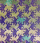Sophie Allain- mosaïque 54X54cm