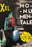 Organisation d'exposition monumentale Biot-XXL Galerie Gabel- coach artiste- organisation d'évènements art-