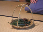 干菓子は和久傳の「西湖」。れんこんの粉と和三盆で作ったプルンとした生菓子