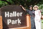 mit Regina durch den Haller Park