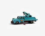 toys 3/04 -Autocarro blu