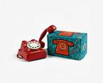 toys 5/05 - Telefono rosso con scatola