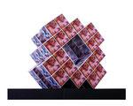 セロキューブ™.1『コンビネーション.1』 ミニチュア模型 / 2010年制作 / 30×25×30cm / ミクストメディア