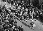 1957 - omaggio dei legionari alla Brigitte Bardot