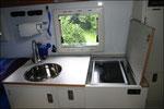 Küchenblock mit Dieselkocher