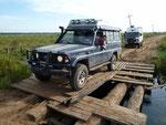 Morsche Brücken zur Laguna Blanca
