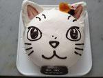 シロちゃんのケーキ(直径15cm):要事前予約