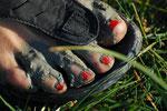 So sehen Füße aus in der Normadie....