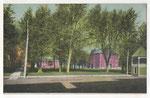 1908 postcard of campus