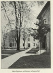 1922 men's dorm and entrance to Loomis