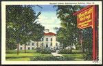 Admin building postcard circa 1948