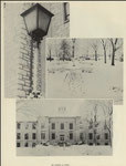 late 1950's admin building in winter