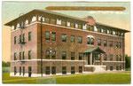 WV 1913 dorm postcard
