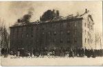 original Old Sandstone burning in 1912