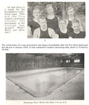 gymnasium, build in 1926 (swim team info)