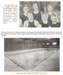 gymnasium, build in 1926 (swim team info)