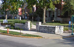 Shurtleff today - 1911 gate, Carnegie Library (right) and Loomis (left)
