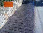 pavimento de hormigón impreso-adoquin rustico