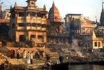 Varanasi, cremazione