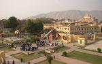 Jaipur, Jantar Mantar, strumenti astronomici